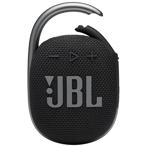 Портативная акустика JBL Clip 4, 5 Вт, черный