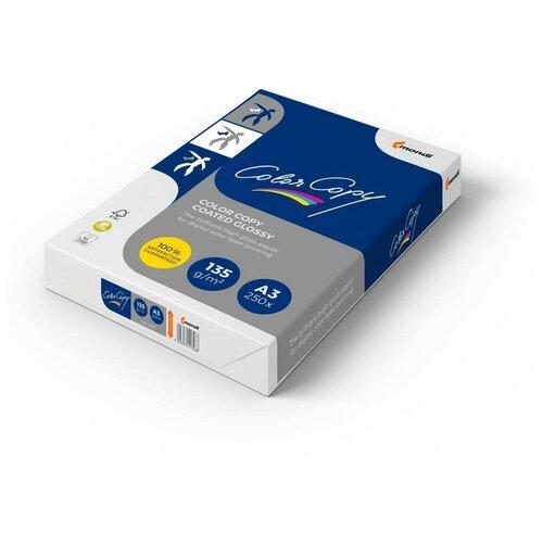 Фото - Бумага Color Copy A3 Coated Glossy 135 г/м² 250 лист., белый бумага color copy а3 200 г м2 250 л для полноцветной лазерной печати а австрия 161% cie a3 7158