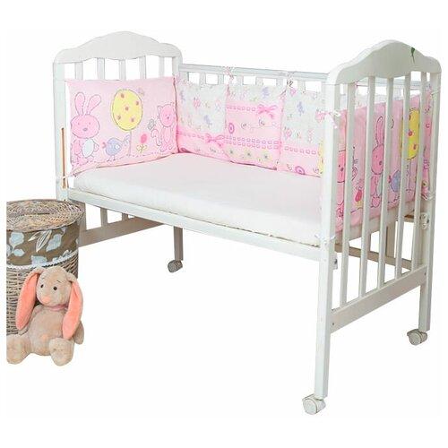 Фото - Сонный Гномик бортики-подушки Акварель розовый сонный гномик бортики подушки стрекоза егоза розовый