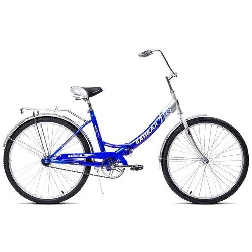 Городской велосипед Байкал В2603 синий (требует финальной сборки)