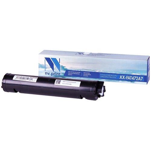 Фото - Картридж NV Print KX-FAT472A7 для Panasonic, совместимый картридж nv print kx fat472a7 для panasonic совместимый