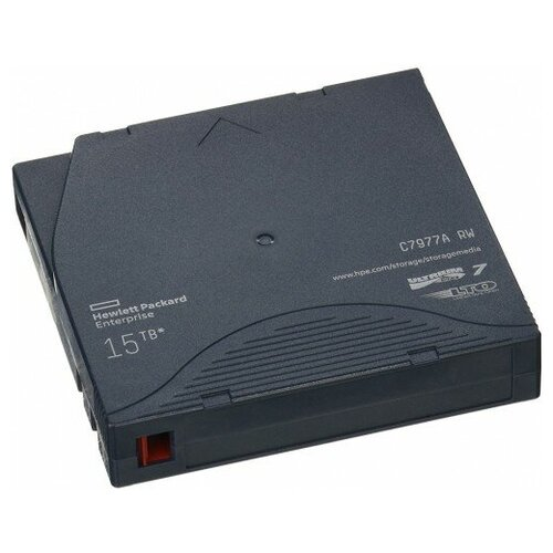 Фото - Магнитная лента незаписанная HPE HPE LTO-7 Ultrium 15TB RW Data Cartridge 480гб серверный ssd hpe mixed use 872344 b21