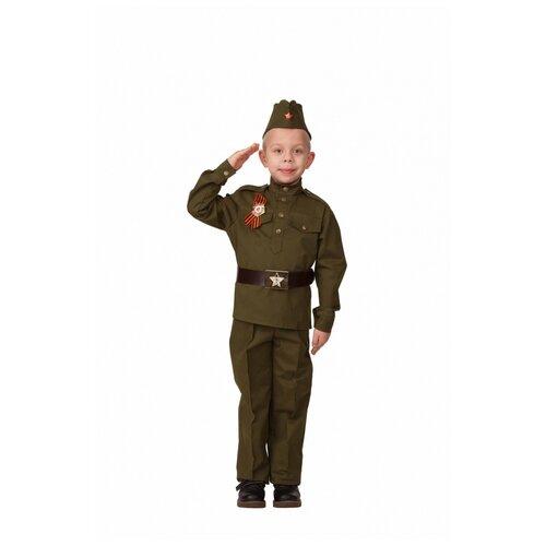 Купить Детский костюм Солдат , 104 см., Батик, Карнавальные костюмы