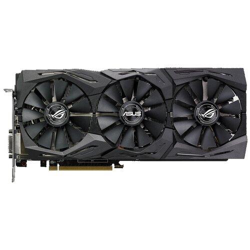 Видеокарта ASUS ROG Strix Radeon RX 580 OC edition 8GB (ROG-STRIX-RX580-O8G-GAMING) Retail
