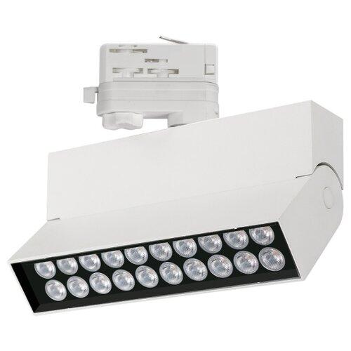 Трековый светильник Arlight LGD-LOFT-TRACK-4TR-S170-20W Day4000 (WH, 24 deg) трековый светильник спот arlight lgd loft track 4tr s170 20w white6000 wh 24 deg