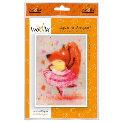 Купить Woolla WA-0155 набор Белочка Марта ., Валяние