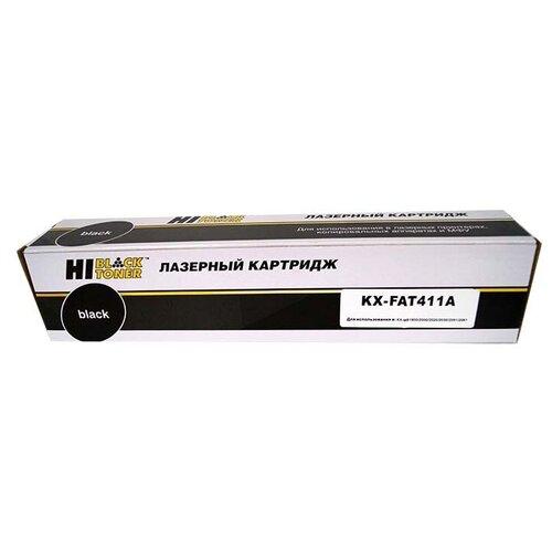 Фото - Картридж Hi-Black HB- KX-FAT411A, совместимый картридж nv print kx fat411a kx fat411a kx fat411a kx fat411a для для panasonic kx fa t 411a 2000стр черный