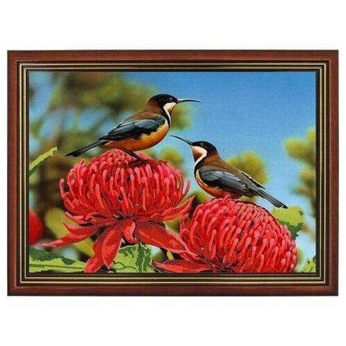 Купить Рисунок на ткани «Конёк» 9453 Хризантемы - 1, 29x39 см, Наборы для вышивания