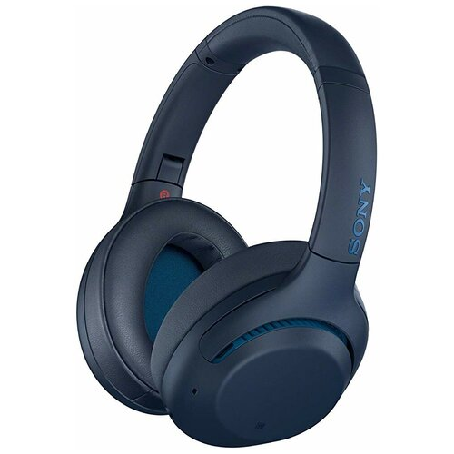 Беспроводные наушники Sony WH-XB900N, blue беспроводные наушники sony wh ch710n blue