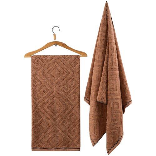 Фото - Guten Morgen полотенце Помпеи банное 70х130 см коричневый guten morgen полотенце пейсли банное 70х130 см коралл