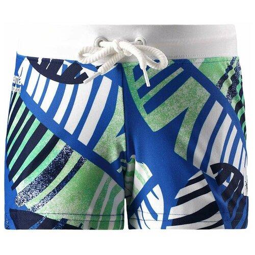 Купить Плавки Reima размер 122, голубой/зеленый/белый, Белье и пляжная мода