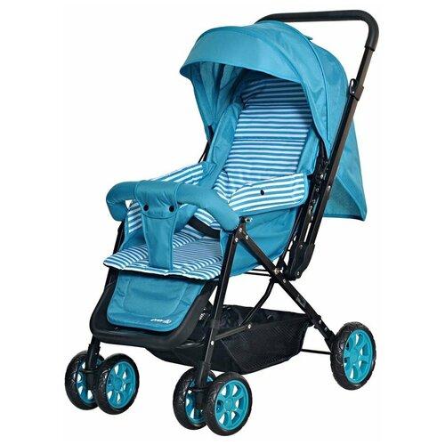Прогулочная коляска everflo E-200 Range, blue прогулочная коляска everflo e 100 simple pink