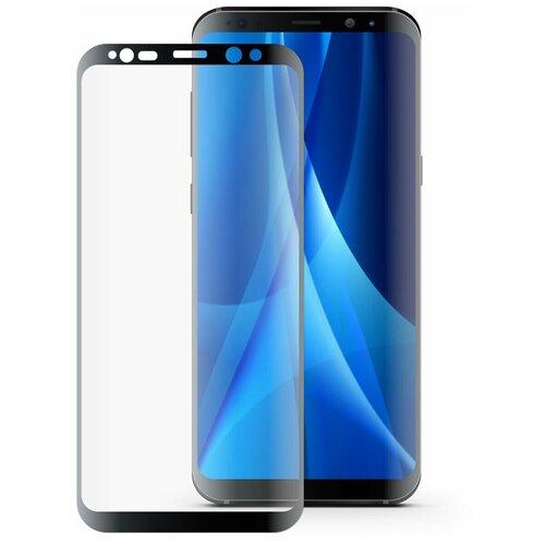 Защитное стекло Mobius 3D Full Cover Premium Tempered Glass для Samsung Galaxy S8 черный защитное стекло mobius 3d full cover premium tempered glass для samsung galaxy a6 2018 черный