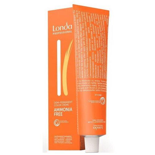 Londa Professional деми-перманентная крем-краска Ammonia-free, 6/0 Темный блонд, 60 мл londa professional деми перманентная крем краска ammonia free 4 0 шатен 60 мл
