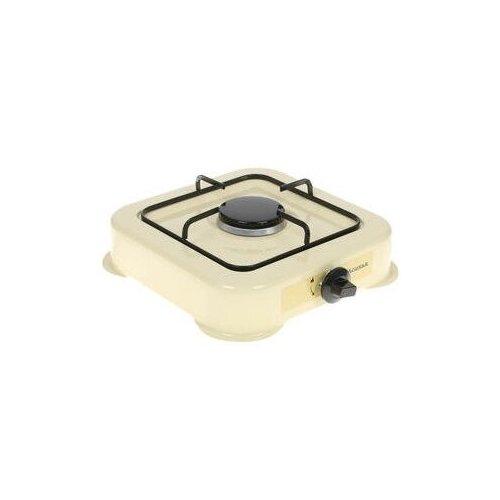 Газовая плита настольная Аксинья одноконфорочная КС-101 молочный