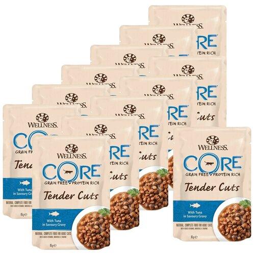 Влажный корм для кошек Wellness беззерновой, с тунцом 12 шт. х 85 г влажный корм для кошек wellness беззерновой с тунцом с креветками 24 шт х 79 г