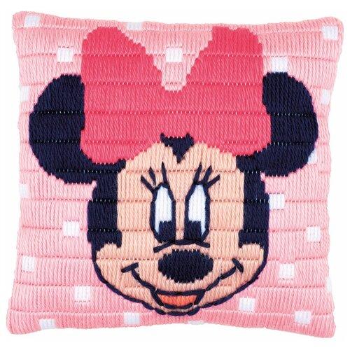 Фото - Набор для вышивания подушки Минни Маус (Disney) disney игрушка минни