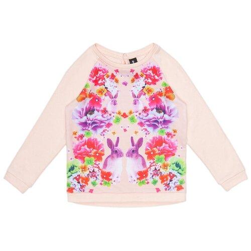 платье для девочки acoola pomelo цвет голубой 20220200368 400 размер 104 Свитшот Acoola размер 104, светло-розовый