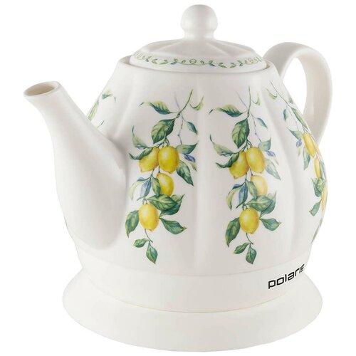 Чайник Polaris PWK 1287CC, белый недорого