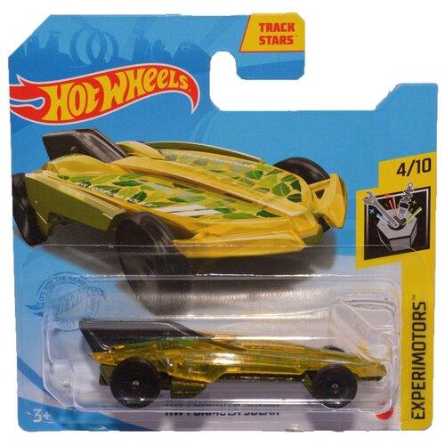 Hot Wheels Базовая машинка HW Formula Solar, желтая mattel базовая машинка hot wheels tesla model 3