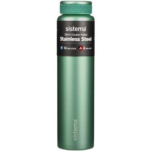 510 Стальная термобутылка Hydrate 280мл зеленая