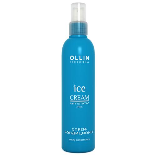 Купить OLLIN Professional несмываемый спрей-кондиционер для волос Ice cream Antistatic Effect, 250 мл