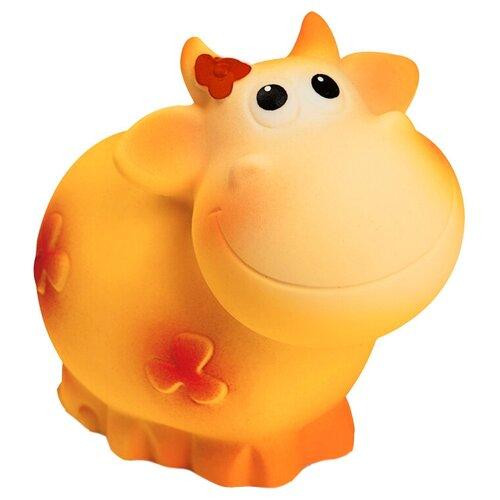 Фото - Игрушка для ванной ОГОНЁК Корова Веснушка (С-1165) оранжевый игрушка для ванной огонёк лев бонифаций с 644 оранжевый