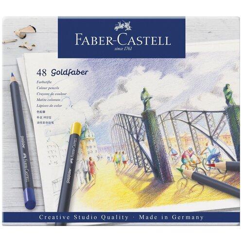 Faber-Castell Карандаши цветные Goldfaber, 48 цветов (114748)