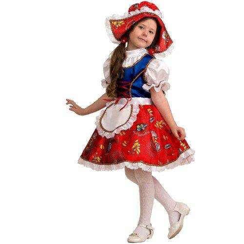 Купить Костюм Батик Jeanees Красная шапочка (5205), красный, размер 134, Карнавальные костюмы