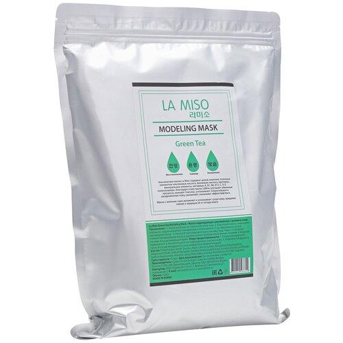 Купить La Miso альгинатная маска с зеленым чаем, 1000 г