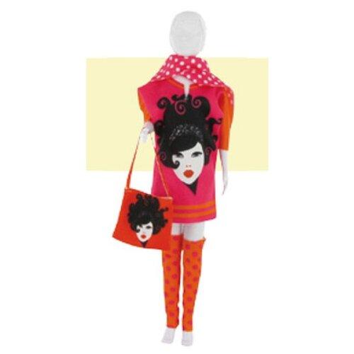 Набор для шитья «Одежда для кукол Sally Girl Pink №1», DressYourDoll