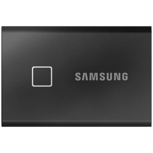 Фото - Внешний SSD Samsung T7 Touch 1 TB, черный внешний ssd samsung t7 touch 1 tb серебристый