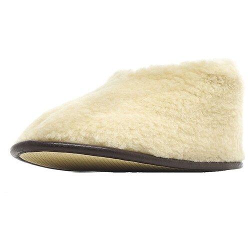 Тапочки высокие ALWERO белый 35-36
