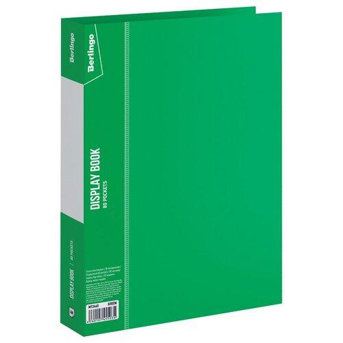 Фото - Berlingo Папка с 80 вкладышами Standard A4, пластик зеленый berlingo папка со 100 вкладышами standard a4 пластик синий