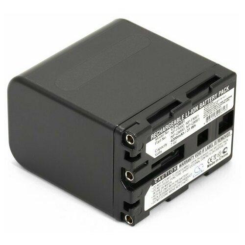 Усиленный аккумулятор для камеры Sony NP-FM91, NP-QM90, NP-QM91D