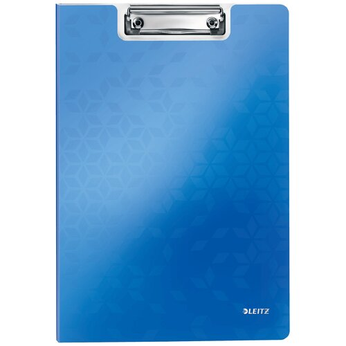 Leitz Папка-планшет с верхним прижимом WOW A4, полифом синий