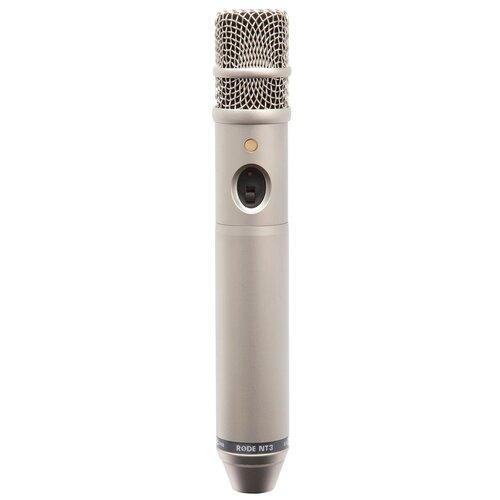 RODE NT3 микрофон конденсаторный, студийный и для работы на выез