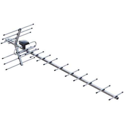 Фото - Уличная DVB-T2 антенна РЭМО BAS-1159-P Орбита-19 уличная dvb t2 антенна рэмо bas 1131 dx диапазон uhf