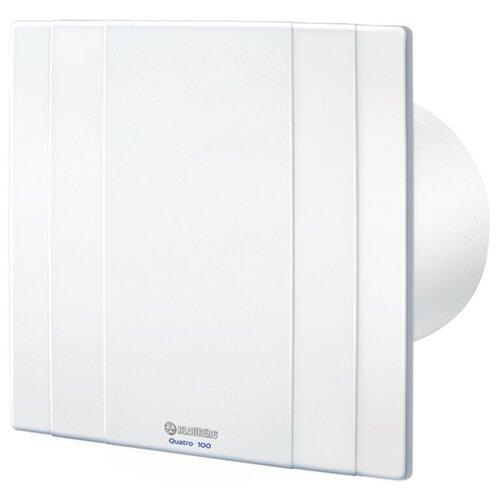 Фото - Вытяжной вентилятор Blauberg Quatro 125 T, белый 16 Вт вытяжной вентилятор blauberg bravo 125 белый 16 вт