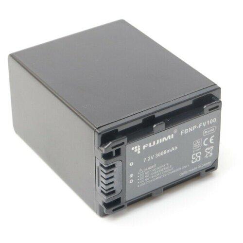Фото - Fujimi FBNP-FV100 Аккумулятор для фото-видео камер fujimi lp e17 зу аккумулятор для фото и видео камер в комплекте с зу