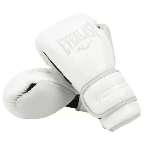Перчатки тренировочные Everlast Powerlock PU 2 10oz сал.