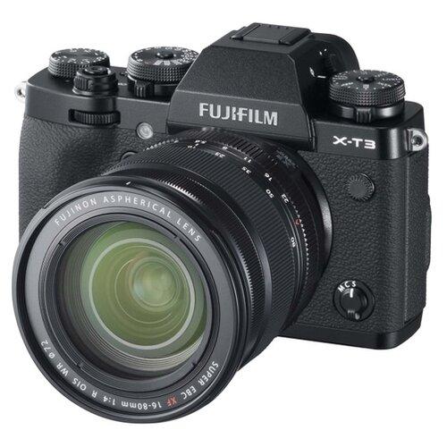 Фото - Фотоаппарат Fujifilm X-T3 Kit черный Fujinon XF16-80mm F4 R OIS WR батарейная ручка fujifilm vg xt3 для x t3