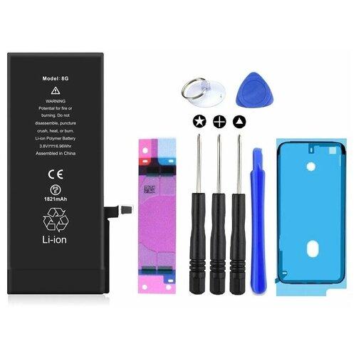 Аккумулятор для iPhone 8 (1821mAh) Wewo + набор инструментов для самостоятельной замены