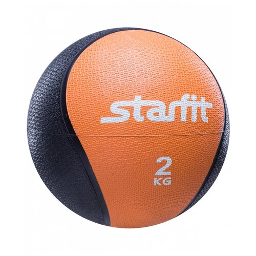 Медбол Starfit PRO GB-702, 2 кг оранжевый