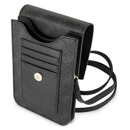 Сумка Guess Wallet Bag 4G для смартфонов, черная сумка guess сумка