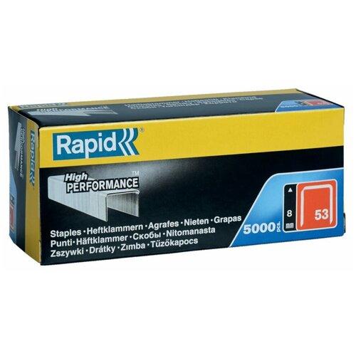 Скобы Rapid 11857050 тип 53 для степлера, 8 мм
