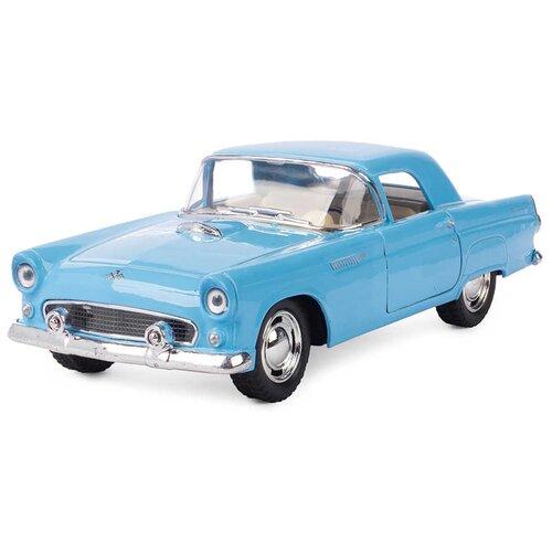Купить Легковой автомобиль Serinity Toys Ford Thunderbird 1955 (5319DKT) 1:36, 12.5 см, голубой, Машинки и техника