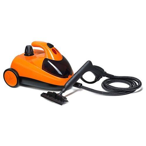 Пароочиститель Kitfort KT-908, оранжевый/черный недорого
