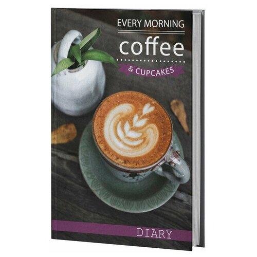 Купить Ежедневник Attache Coffe недатированный, А5, 128 листов, черный, Ежедневники