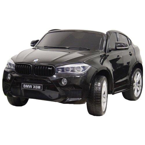 RiverToys Автомобиль BMW X6M, black